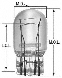 Wagner Lighting BP7443 Miniature Bulb - Card of 1 ()