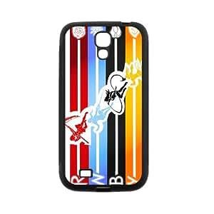 Pink Ladoo? Samsung S4 Case Phone Cover Hard Plastic Rwby Multicolor Line Strip