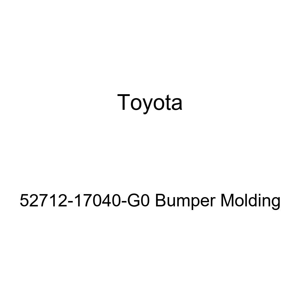 Genuine Toyota 52712-17040-G0 Bumper Molding