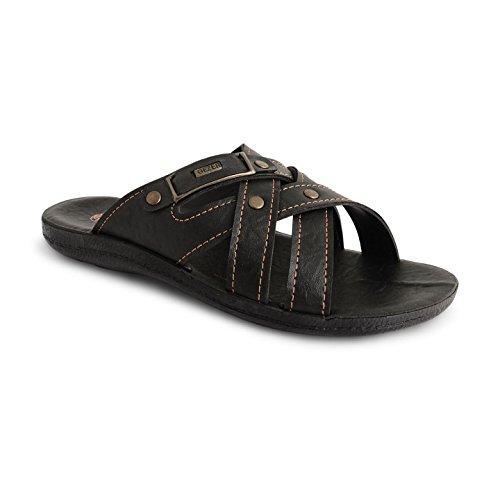 Footwear Sensation - zuecos hombre - Bruce Black
