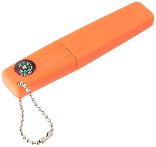 SE FS379 3-in-1 Firestarter with Compass, Whistle, Flint & - Of One Map Square Mall