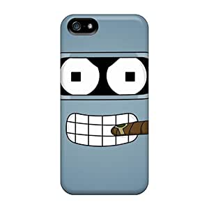 Durable Case For The Iphone 5/5s- Eco-friendly Retail Packaging(bender Futurama)