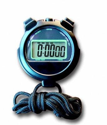 Swimming Pool Waterproof Digital Stopwatch With Lap Count...