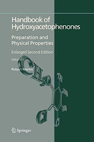 Handbook of Hydroxyacetophenones: Preparation and Physical Properties (Developments in Hydrobiology) pdf