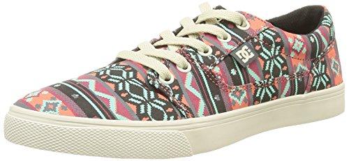 DC Shoes Tonik W SP, Damen Sneakers Mehrfarbig (turtle Dove/pink)