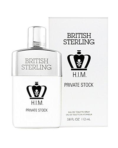 Cologne Vanilla Lavender Spray (British Sterling Him Private Stock By Dana 3.8 oz Eau De Toilette Spray for Men)