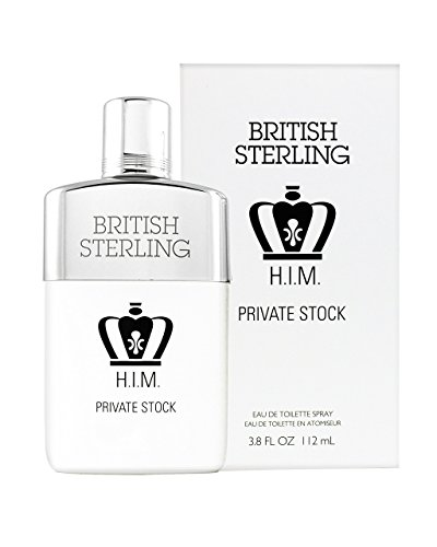 British Sterling Him Private Stock By Dana 3.8 oz Eau De Toilette Spray for Men British Sterling Cologne Spray
