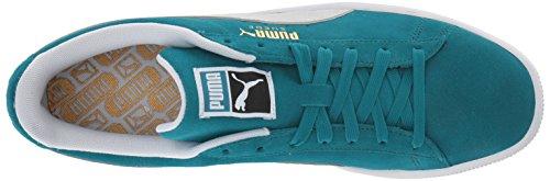 Puma PUMASuede Classic - Klassisch, Wildleder Unisex-Erwachsene Ocean Depths/Puma White