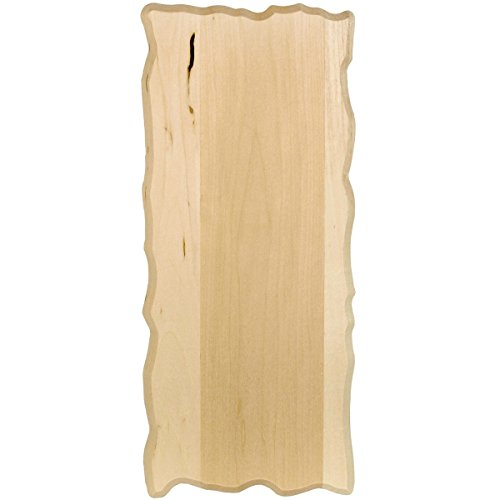 (Walnut Hollow Basswood Rustic Rectangle Plaque-6