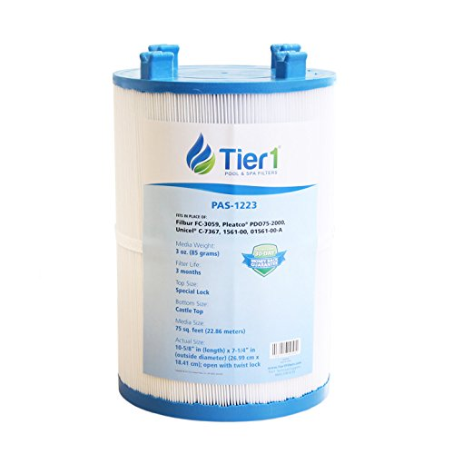 r Dimension One 1561-00, Pleatco PDO75-2000, Filbur FC-3059, Unicel C-7367 Spa Filter Cartridge for Dimension One Spas ()