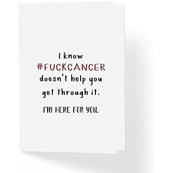 Amazon fukc cancer adult encouragement greeting card 5 x 7 fukc cancer adult encouragement greeting card 5 x 7 blank inside m4hsunfo