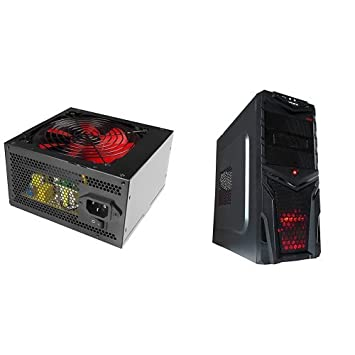 Mars Gaming MP800 - Fuente de alimentación + MC2V2 - Caja de ordenador de sobremesa: Amazon.es: Informática