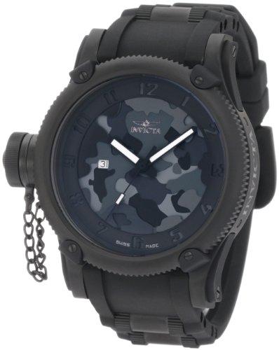 Invicta Men's 1199 Russian Diver Collection Camo Watch ()