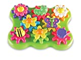 Learning Resources Learning Essentials Flower Garden Build & Spin Playset (17 Piece)