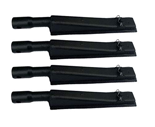(VICOOL hyB935 (4-Pack) Cast Iron Burner for Brinkmann, Kenmore, Grill Zone and Other Grills (12 7/8'' X 2 1/8''))