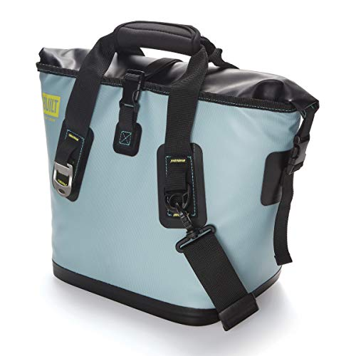 BUILT 5233506 Welded Soft Portable Cooler with Wide Mouth Opening – Insulated and Leak-Proof, Small, Arctic Ice