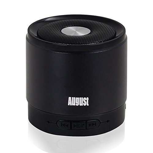 August MS425B Altavoz Bluetooth Portátil y con Micrófono - Potente...
