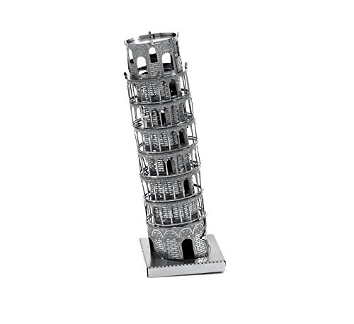 Fascinations Metal Earth Leaning Tower of Pisa Building 3D Metal Model Kit