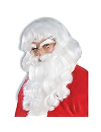 Forum Novelties Men's Santa Wig and Beard Set