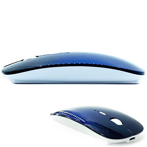 Bluetooth Mouse for MacBook pro/MacBook air/Laptop/iMac/ipad, Wireless Mouse for MacBook pro MacBook Air/iMac/Laptop/Notebook/pc (BT/A Royal Blue)