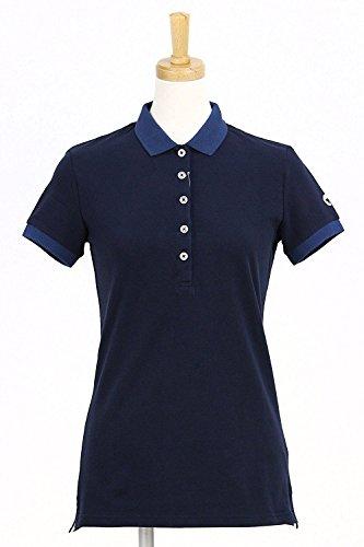 【2017年春夏】Ciesse Piumini【チェッセピューミニ】レディース ゴルフ ウェア ポロシャツ SHIRT WOMEN COW189 CPQSK GIAVA7B S,ネイビー(01291)