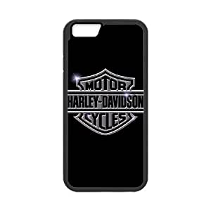 iPhone 6 Plus 5.5 Inch Cell Phone Case Black Harley Davidson WNI Designer Phone Covers