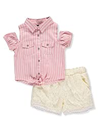 dollhouse Girls' 2-Piece Short Set Outfit
