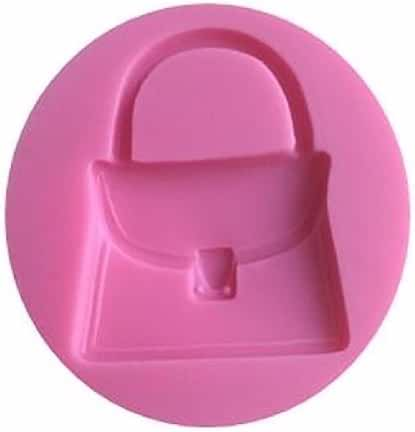 Purse Handbag Mini Silicone Pan for Fondant Gum Paste Chocolate Crafts NEW