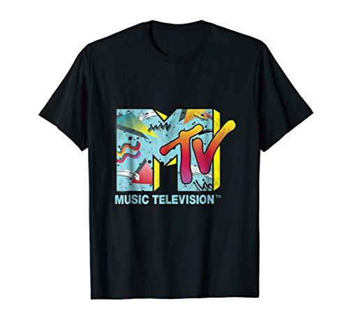 Classic MTV Logo 80s style T- Shirts]()