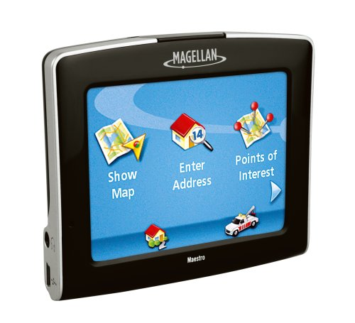 Updating maps magellan maestro 3200