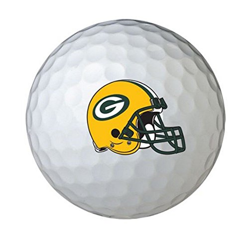 2015 Wilson Team Logo Green Bay Packers NFL Golf Balls- *Pack of 6* by WILSON