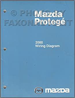 2000 Mazda Protege Wiring Diagram Manual Original Mazda Amazon Com