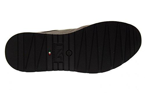 Nero Giardini Scarpe Uomo Sneakers Basse P800235U/120 Cemento Wiki De Salida w6N2L4EiS
