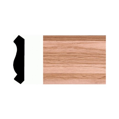 House of Fara 9577 Solid Red Oak Crown (Pack of 6)