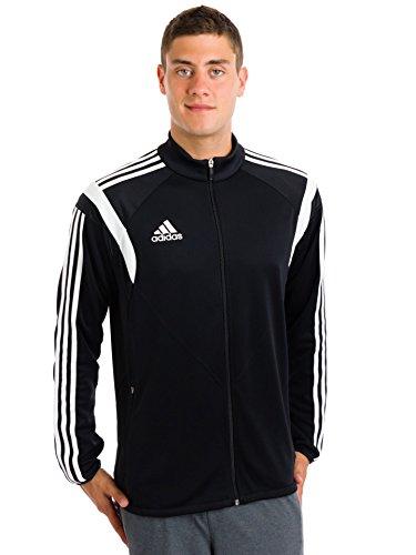 UPC 887387962974, Adidas Mens Condivo 14 Training Jacket (Black/White/Black/Large)