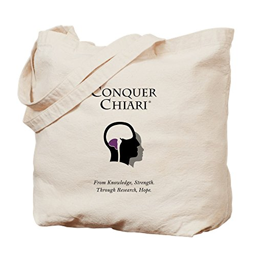 - CafePress - CC LOGO-PORTRAIT-L - Natural Canvas Tote Bag, Cloth Shopping Bag