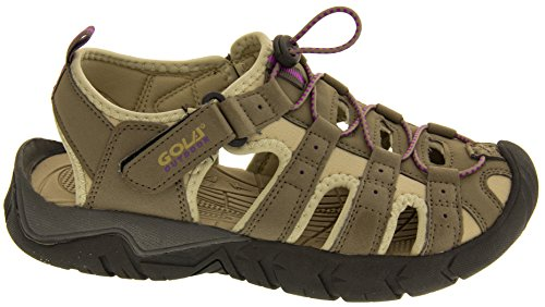 Footwear Studio - Sandalias deportivas para mujer Taupe