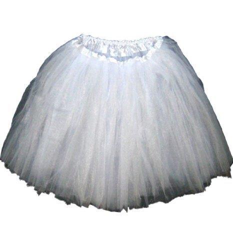 Adult Tutu Assorted Colors (White)