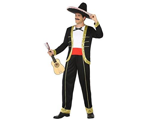 Atosa 15409–Mariachi Man Costume, Size XL, -