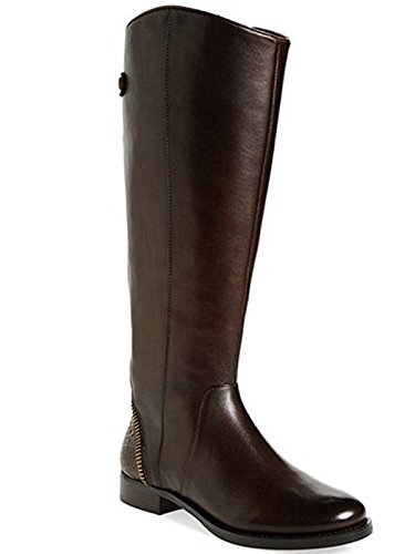 Arturo Chiang Women's Classic Tall Riding Boots FALICITY Dark Chocolate (7.5)