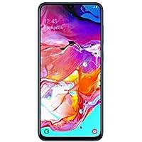 """Samsung Galaxy A70 128GB/6GB SM-A705M/DS 6.7"""" HD+ Infinity-U 4G/LTE Smartphone Desbloqueado de fábrica (versión Internacional), Azul"""
