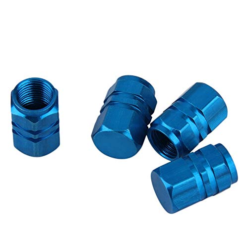 ningbao651 4 PCS Compact Aluminum Car Truck Motocycle Bike Tire Tyre Wheel Rims Air Valve STEM Caps Cover Tyres Accessories