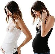 Breastfeeding Bundle-Naked Nursing Tank- Luxury Bamboo, Black and White - Save $10