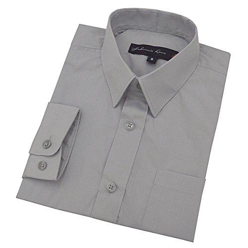 (Johnnie Lene Little Boy's Long Sleeves Solid Dress Shirt #JL32 (3T,)