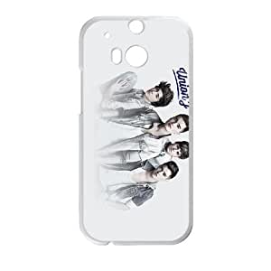 HTC One M8 Cell Phone Case Covers White Union J T4529751