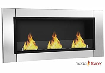 Buy GF101675 Devant Ventless Bio Ethanol Wall Mounted Fireplace -: Gel & Ethanol Fireplaces - Amazon.com ? FREE DELIVERY possible on eligible purchases