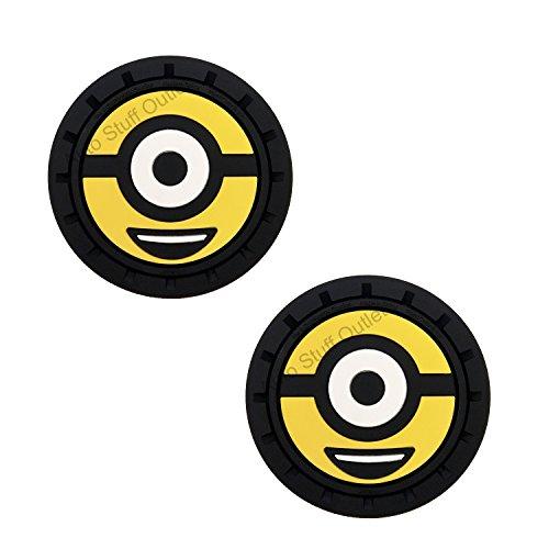 Plasticolor Universal Despicable Me Minions Auto Cup Holder Coaster BOB]()