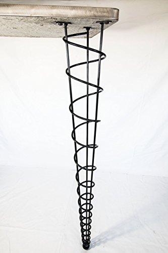 Handmade Dining Room Tables (Bar Height Table Legs, Modern, 40-inch Height, Single Leg, Straight)