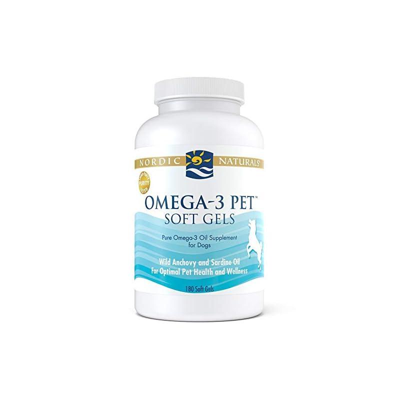 dog supplies online nordic naturals omega 3 pet, 180 count