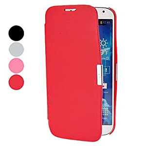 Gt Solid Color PU Leather Full Body Case for Samsung Galaxy S4 I9500 (Assorted Colors) , Pink